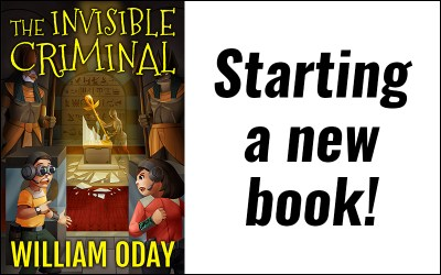 Starting a new book! The Invisible Criminal…