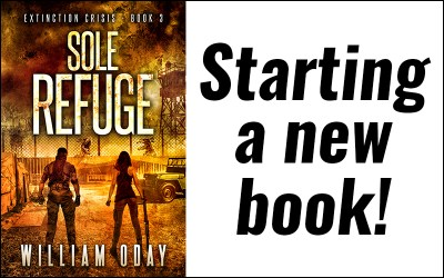 Sole Refuge 3 is officially under way!