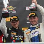 William and Jordan Brands Hatch podium GT 2016