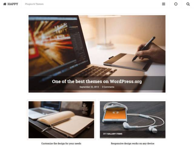 free wordpress blog theme