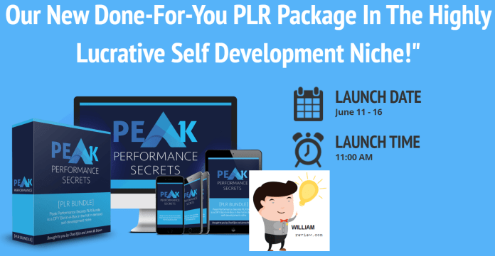 Peak Performance Secrets PLR Bundle Review