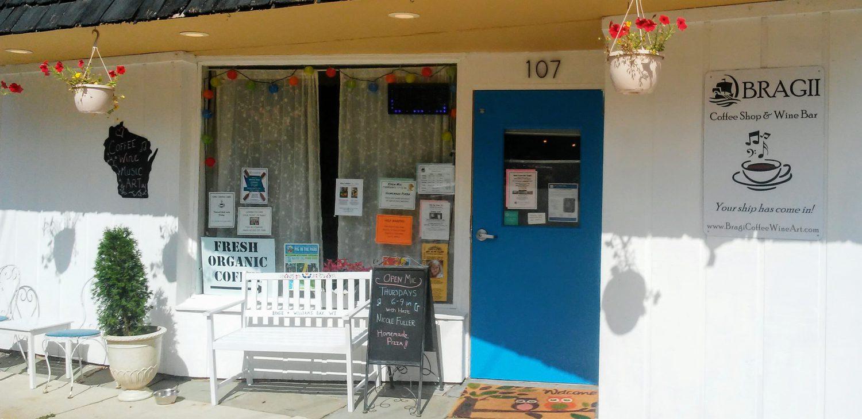 Bragii Coffee Shop and Wine Bar, Williams Bay, WI