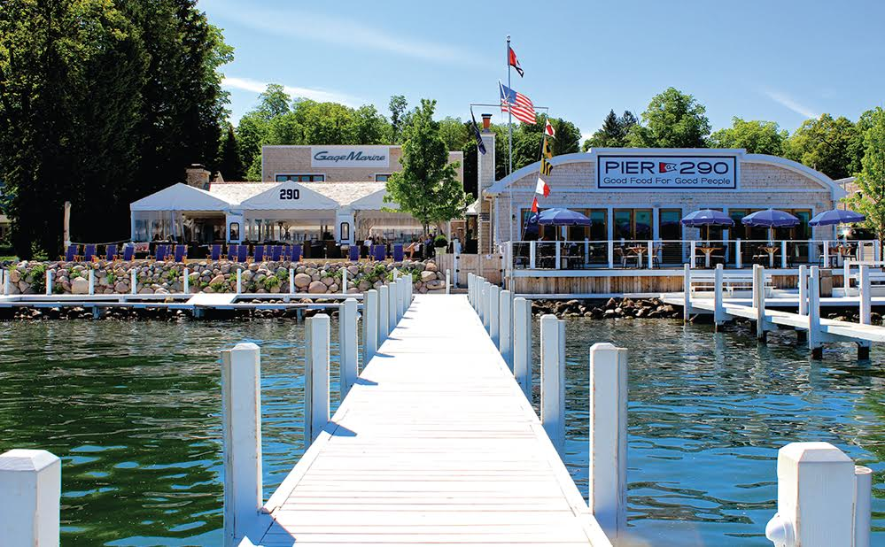 Pier 290 Williams Bay, WI restaurant