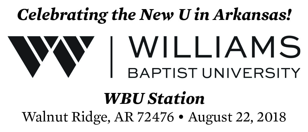 Commemorative Postmark to Celebrate WBU Transition