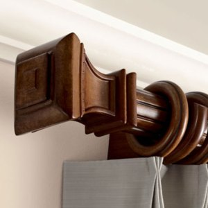 wood curtain rods overview