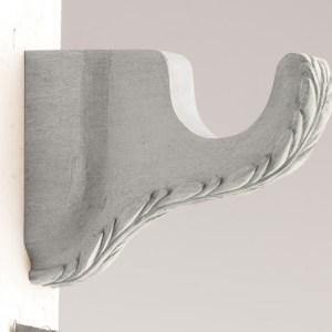 Decorative Bracket Leaf Design