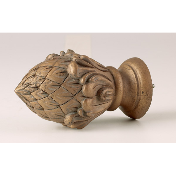 Pineacan Finial 2 Quot Williams Drapery Kirsch Hardware