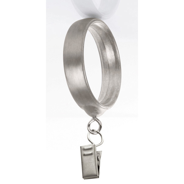 1 3 8 Quot Transitional Decorative Clip Rings 7 Per Pack