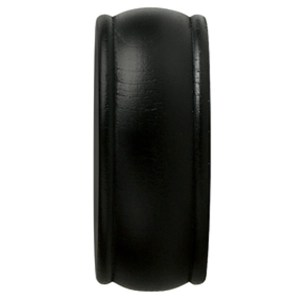 "1-3/8"" Endcap Finial - Black"