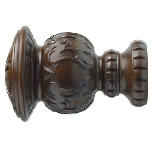 "2"" Reign Finial - Coffee"
