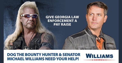 Senator Michael Williams teams up with Dog The Bounty Hunter