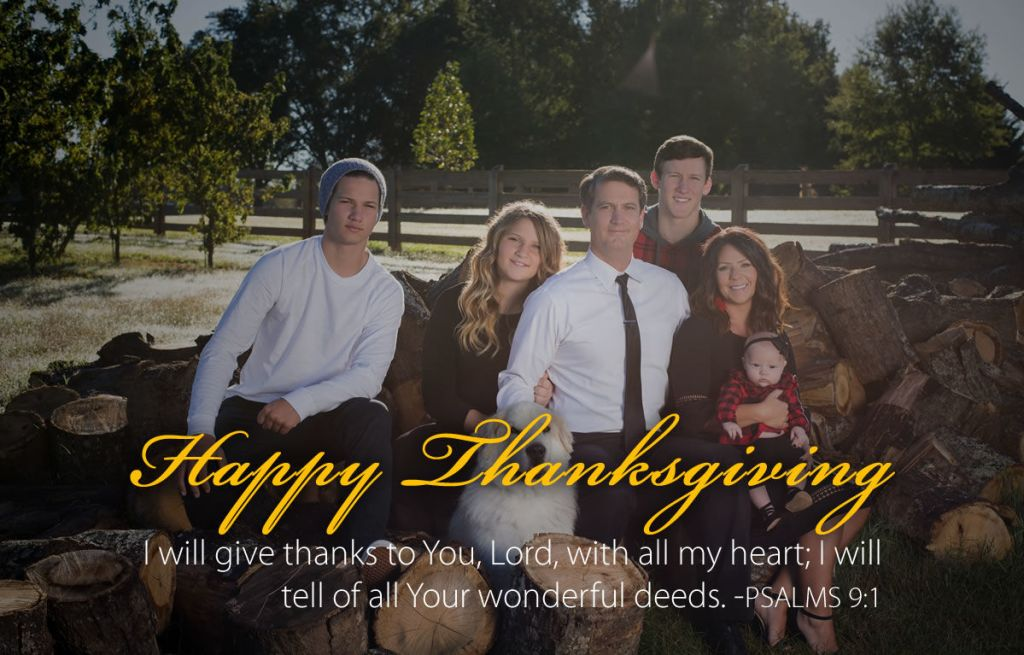 Williams family Thanksgiving