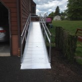 Back door pathway ramp - Williams Lifts and Ramps