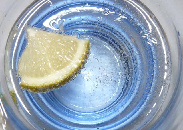 Image of water for hydration tips for seniors.