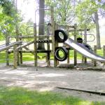 Image of a playground for an article about wheelchair-accessible playgrounds in NJ.