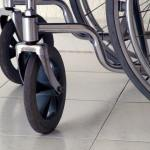 Image of a wheelchair for an article about the best recliner lift chair for the elderly and handicapped.