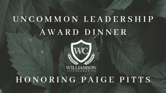 Uncommon Leadership web graphic
