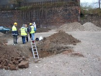 In 2004 we carried out a dig to find one of the tunnels which James Stonehouse described in the 1840s and which Liverpool Corporation covered up in the 1950s.