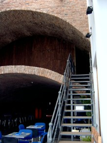 The famous Double tunnel, renovated.