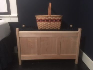 Handmade Blanket Chest