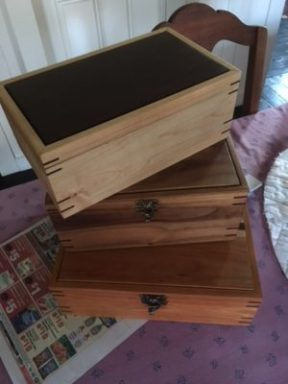 One of our member's wooden boxes