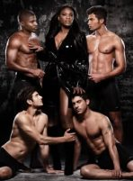 SERENA MONARCH MAGAZINE COVER WITH MALE MODELS 2