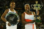 2003 Australian Open: Serena saved match points in the semis and beat Venus to finish the Serena Slam.