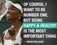 VENUS QUOTE BEING HEALTHY