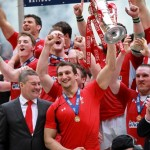 Wales rugby Grand Slam 2012