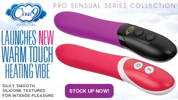 cloud 9 warm touch Heat Up Sales this Spring with the new Warm Touch from Cloud 9 Novelties