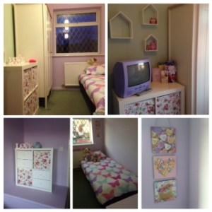 New bedroom for Katie