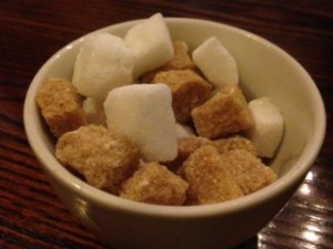 You know its a 'posh' village pub when they serve you sugar lumps