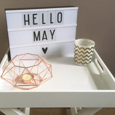 Looking forward to May – My favourite month