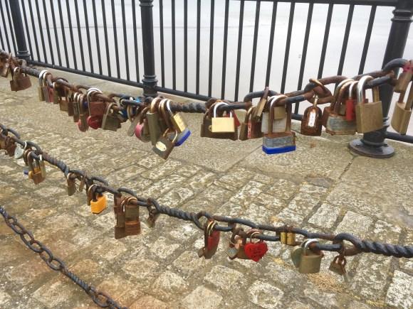 Love Lockst at The Albert Dock