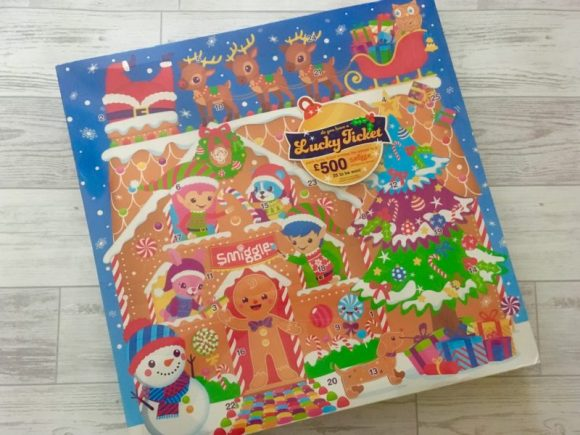 Smiggle Advent Calendar 2017 contents