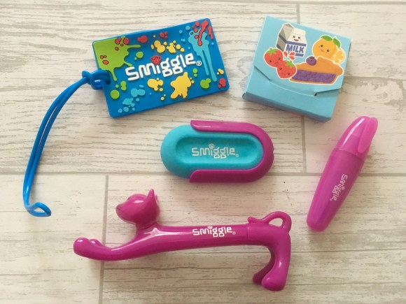 Smiggle Advent Calendar 2017 contents