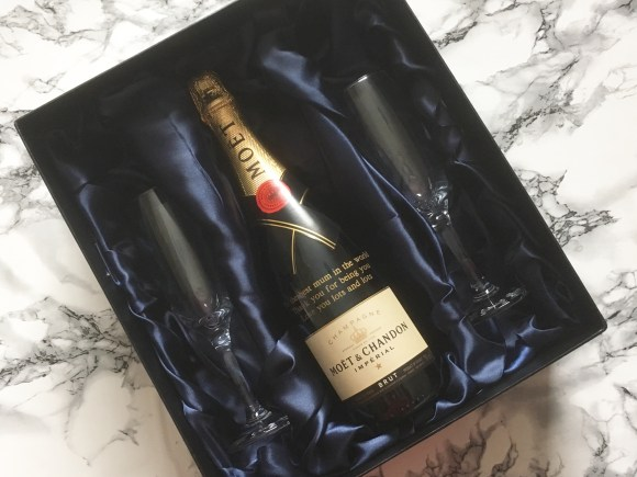 Personalised Moet Gift Set