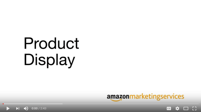 Setting Up Amazon Marketing Services
