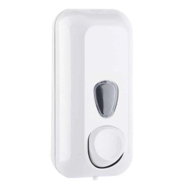 Marplast zeepdispenser 714 - Professionele Kwaliteit - Wit - 550 ml - Losse navulzeep - Geschikt voor openbare ruimten