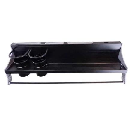 WillieJan Keukenrek 5155B H- Zwart - Aluminium