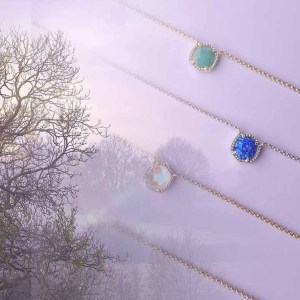Nature and Crystal Necklace