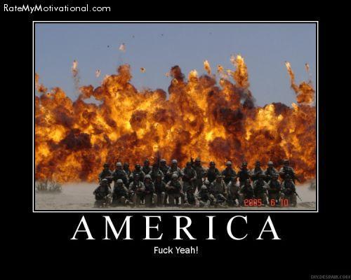 America. F*** Yeah!