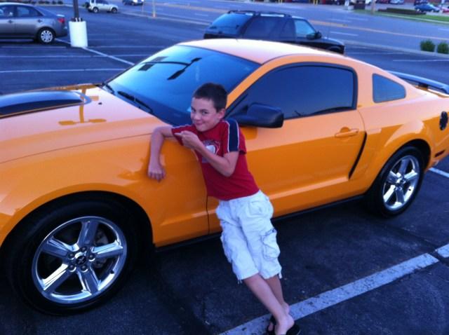 Tinted Mustang