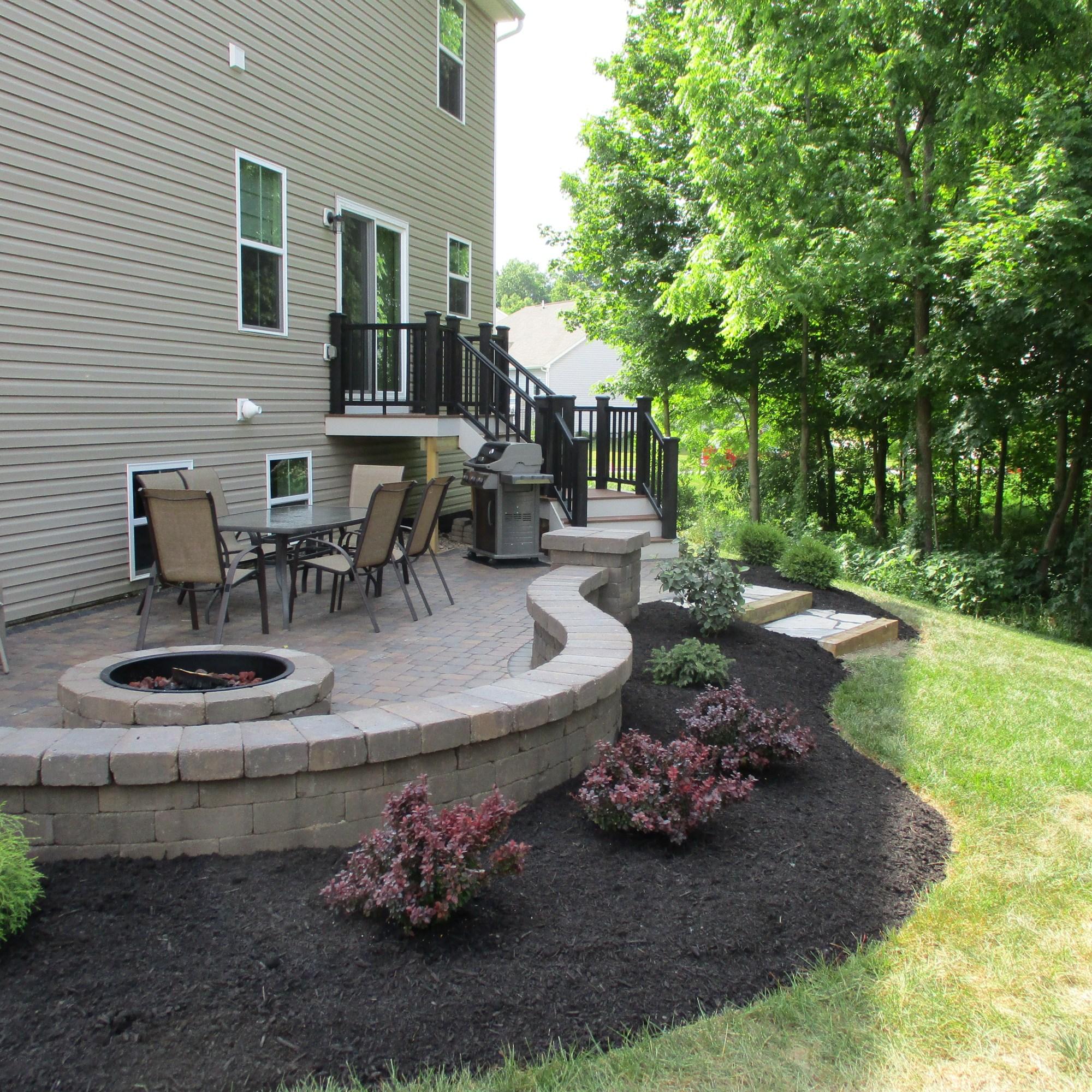 planting around patio willits nursery