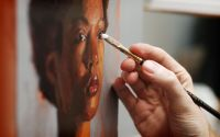 How to Paint Natural Skin Tones with Acrylics  Portrait ...