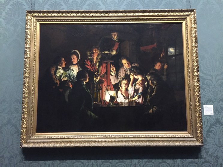 Joseph Wright of Derby - An Experiment on a Bird in the Air Pump