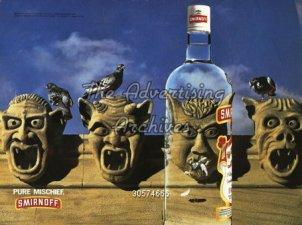 1990s USA Smirnoff Magazine Advert