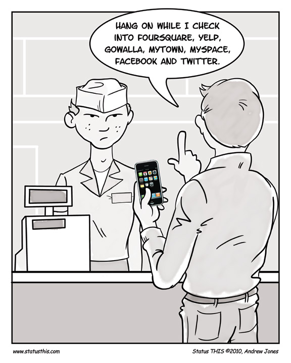 The Trouble With Check-Ins