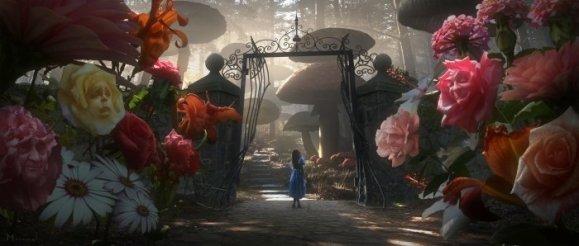 Alice in Wonderland - Alice, at the Gate