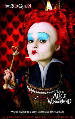 Alice in Wonderland - Red Queen, Promotional Image